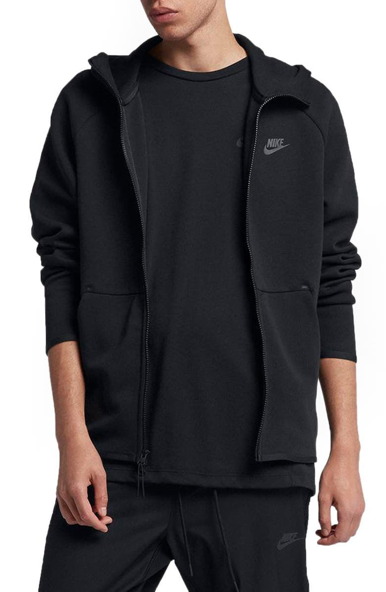 NIKE Sportswear Tech Fleece Zip Hoodie, Main, color, 010