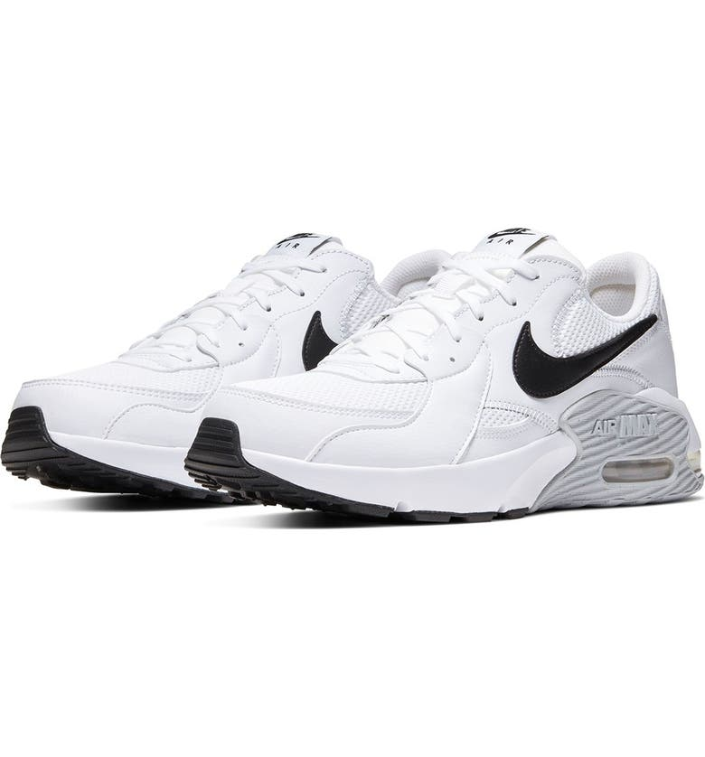 NIKE Air Max Excee Sneaker, Main, color, 100 WHITE/BLACK