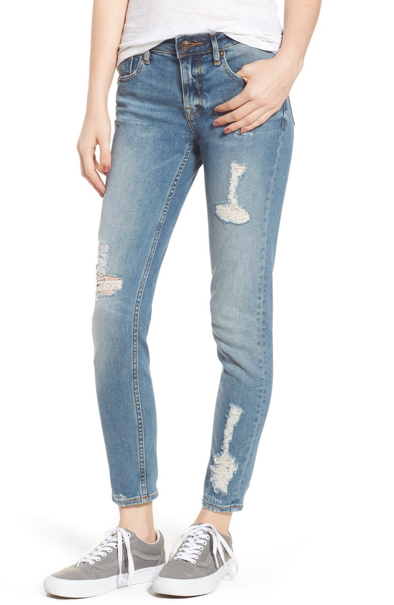 VIGOSS Jagger Decon Distressed Skinny Jeans, Main, color, 426