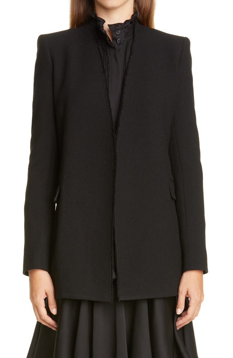 LAFAYETTE 148 NEW YORK Erickson Open Front Blazer, Main, color, 001