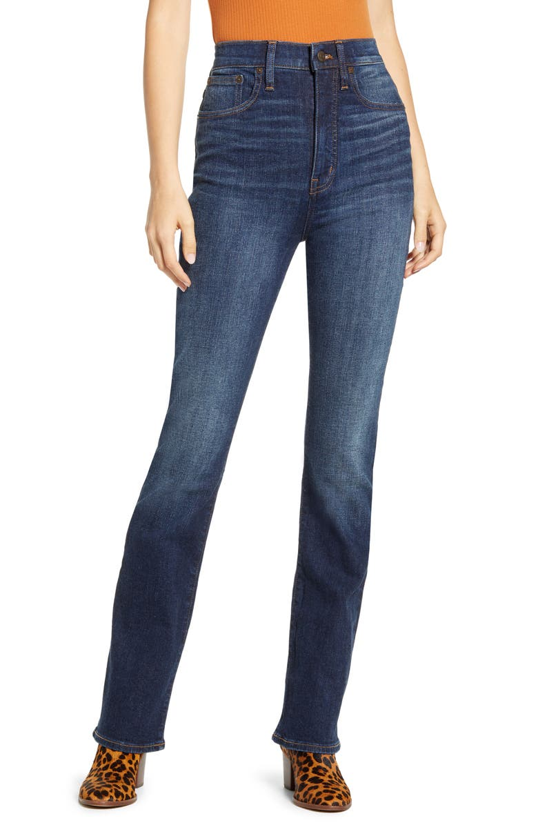 MADEWELL Skinny Flare Jeans, Main, color, 400