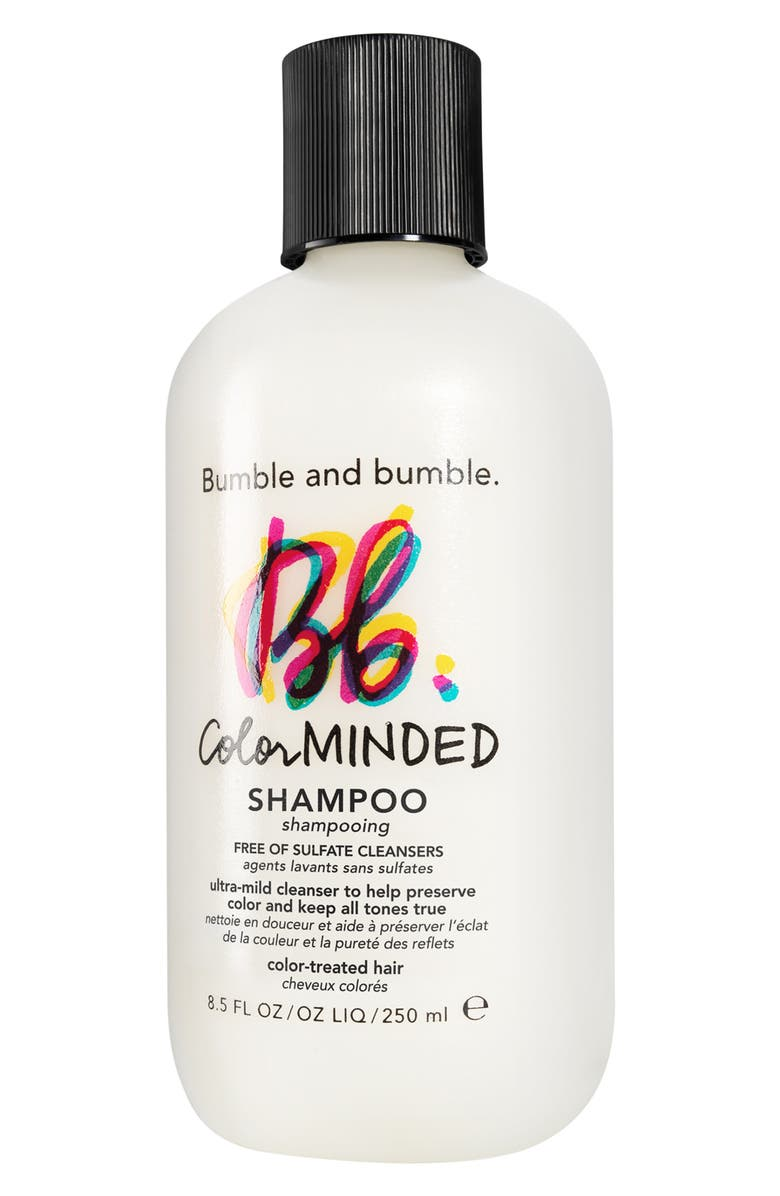 BUMBLE AND BUMBLE. Color Minded Shampoo, Main, color, NO COLOR