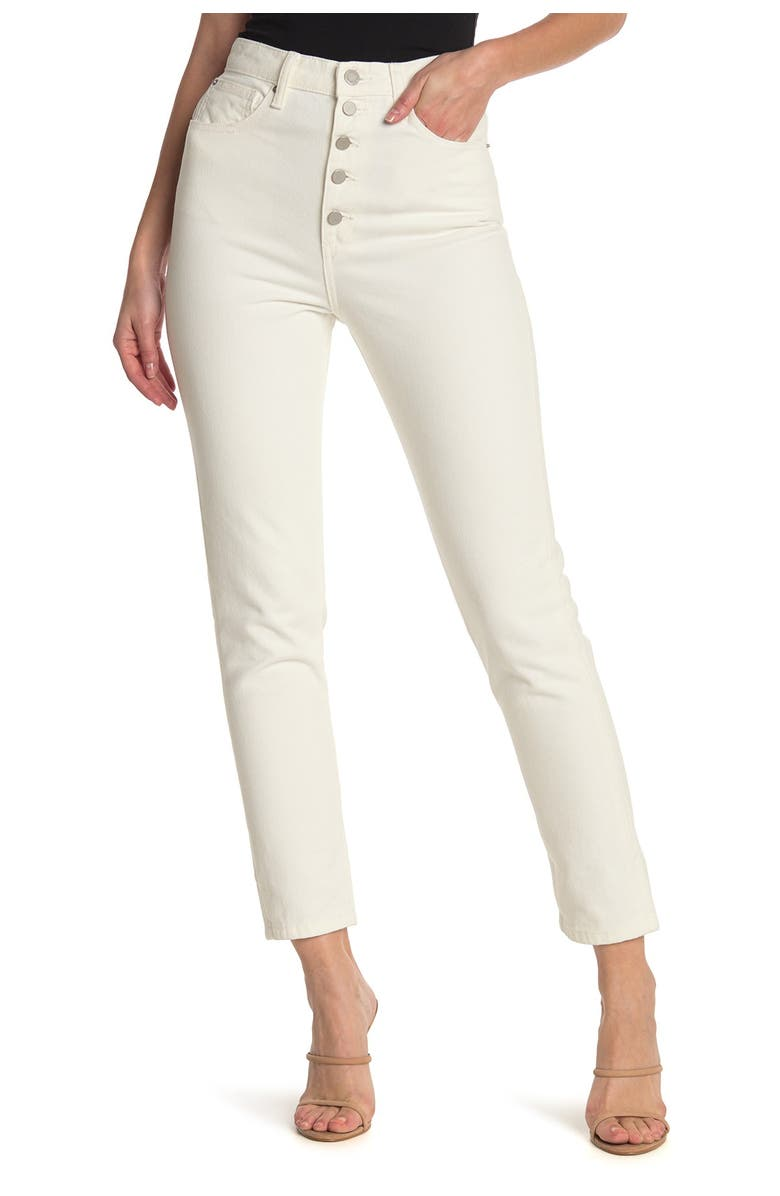 WEWOREWHAT The Danielle Straight Leg Jeans, Main, color, VINTAGE WH