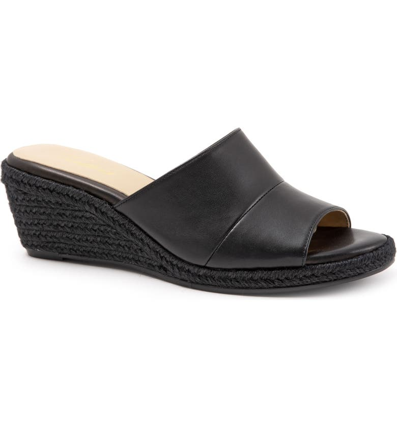 TROTTERS Colony Wedge Slide Sandal, Main, color, 001