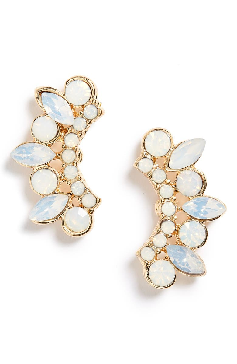 SOLE SOCIETY Crystal Ear Crawlers, Main, color, MINT