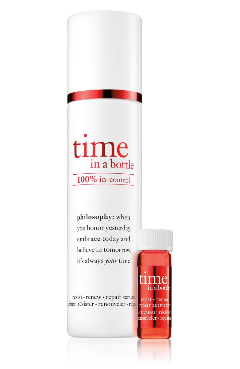 PHILOSOPHY time in a bottle face serum, Main, color, 000