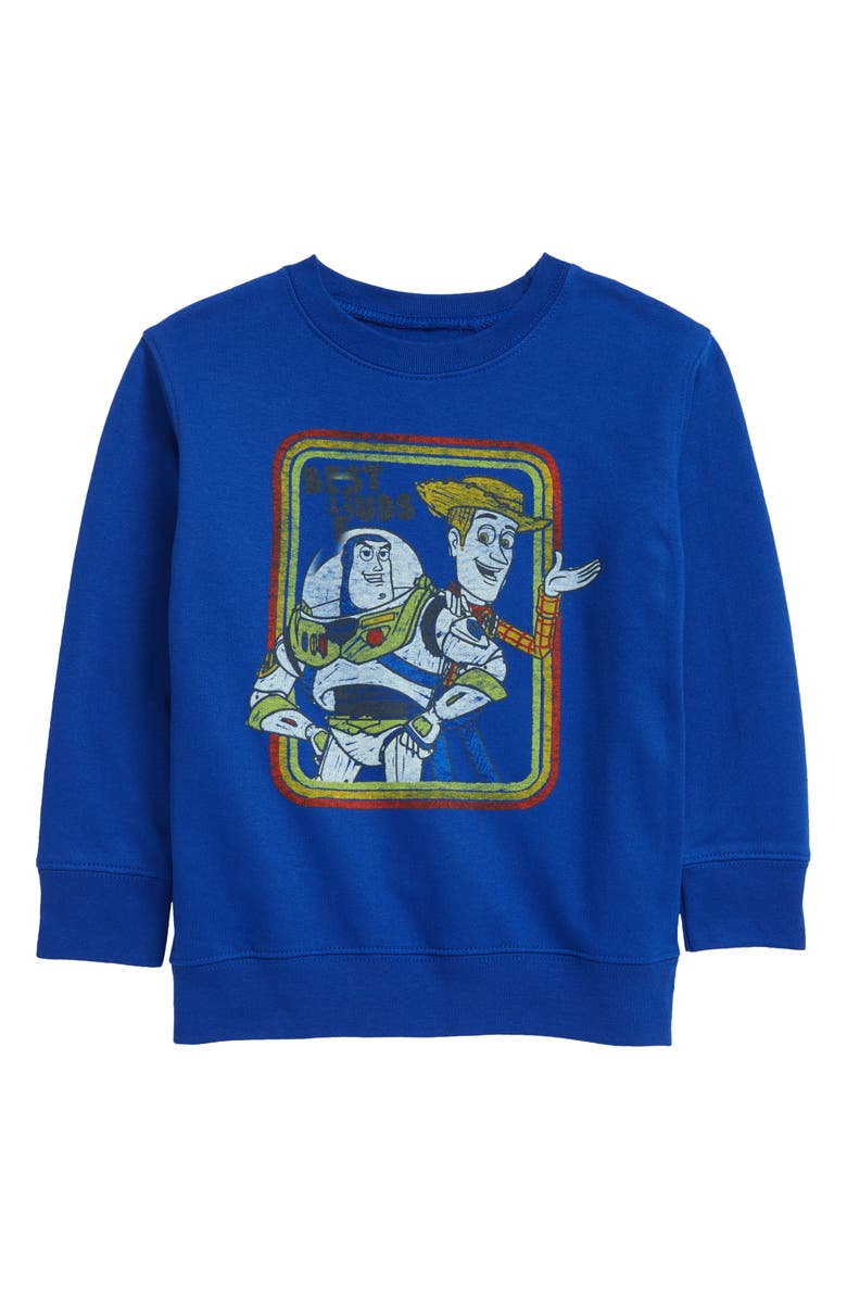 JEM Toy Story<sup>®</sup> Kids' Best Buds Graphic Sweatshirt, Main, color, ROYAL
