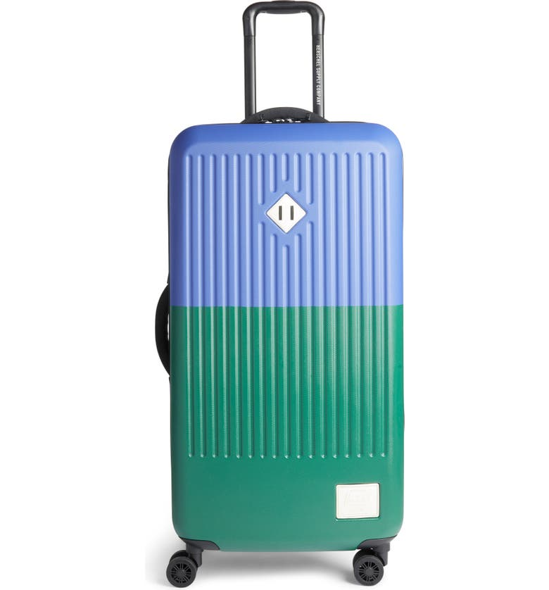 HERSCHEL SUPPLY CO. Large Trade 34-Inch Rolling Suitcase, Main, color, SULPHUR SPRING