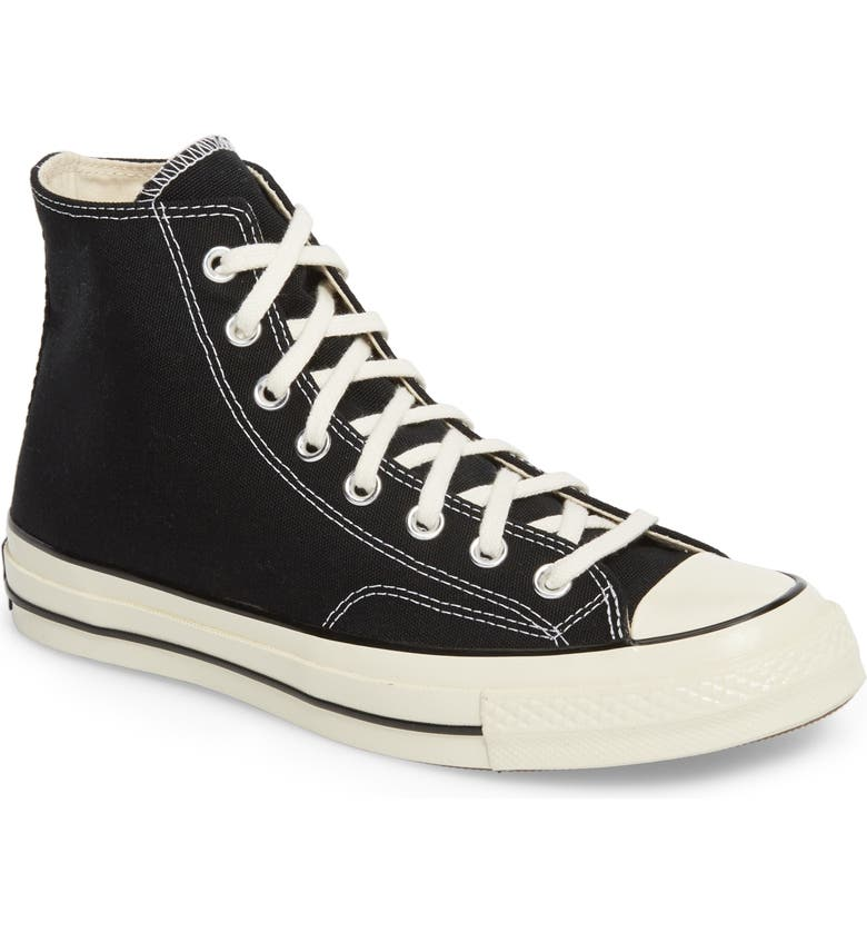 CONVERSE Chuck Taylor<sup>®</sup> All Star<sup>®</sup> 70 High Top Sneaker, Main, color, BLACK