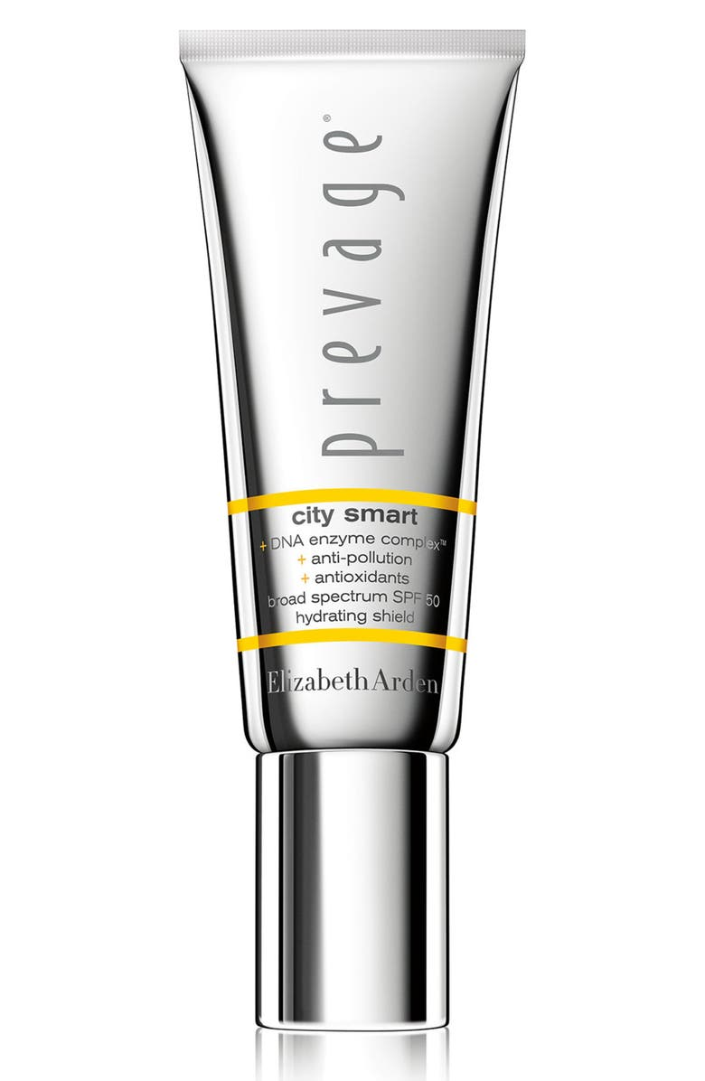 ELIZABETH ARDEN PREVAGE<sup>®</sup> City Smart Broad Spectrum SPF 50 Hydrating Shield, Main, color, 000