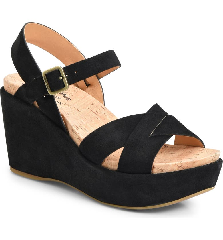 KORK-EASE<SUP>®</SUP> 'Ava 2.0' Platform Wedge Sandal, Main, color, 002