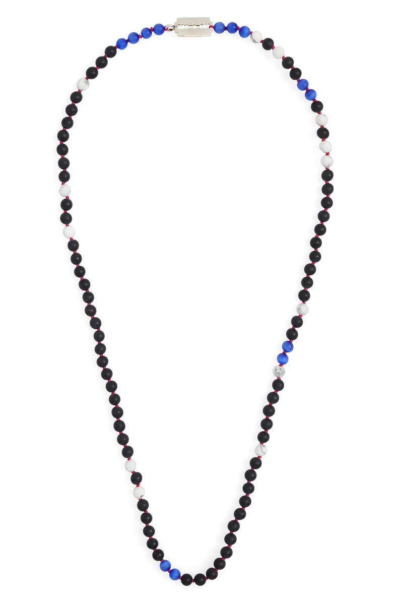JONAS STUDIO Handknotted Bead Necklace, Main, color, 001
