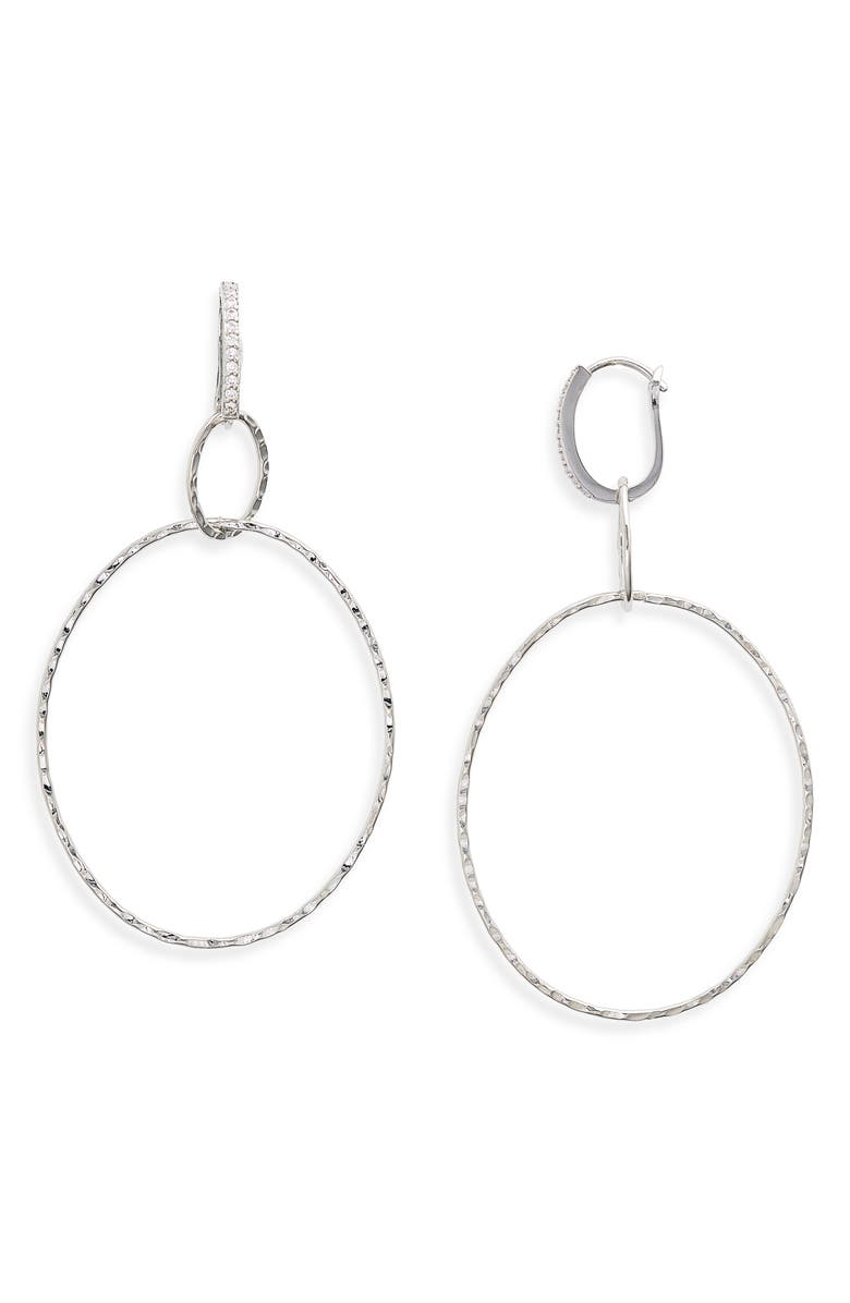 8 OTHER REASONS x Jenn Im Geum Earrings, Main, color, SILVER