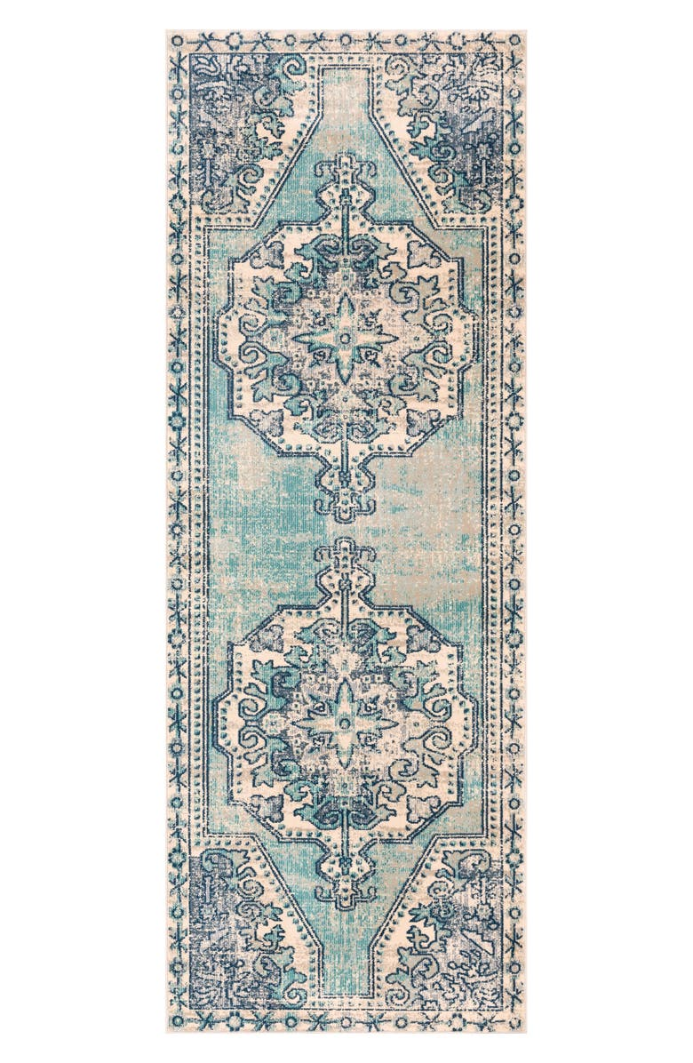 SURYA HOME Bohemian Medallion Area Rug, Main, color, 400