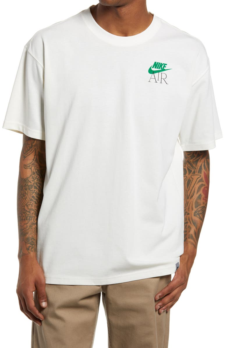 NIKE Sportswear Max 90 Graphic Tee, Main, color, PURE/ LUCKY GREEN