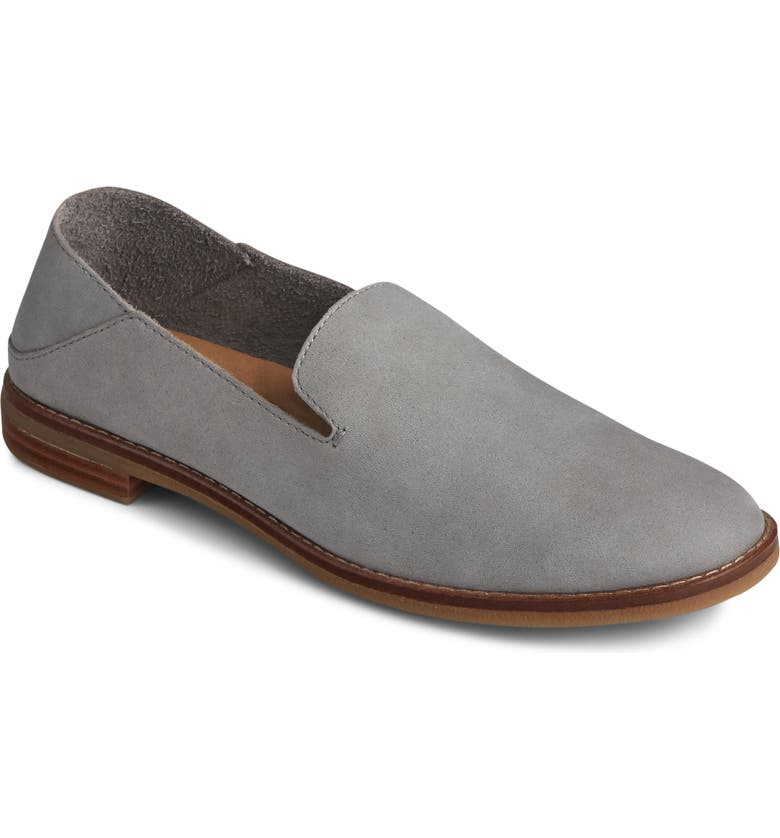 SPERRY Seaport Levy Convertible Loafer, Main, color, GREY