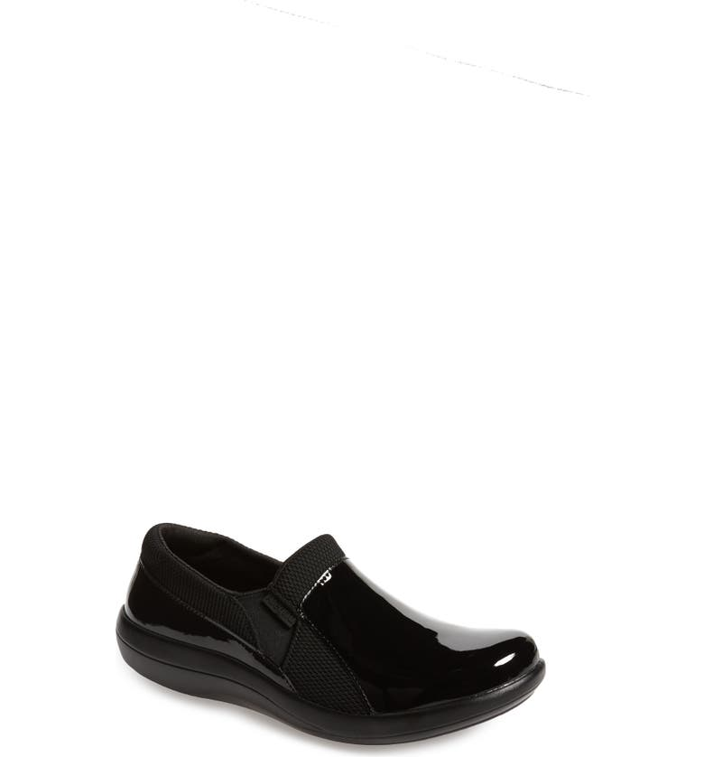ALEGRIA Duette Loafer, Main, color, BLACK PATENT LEATHER