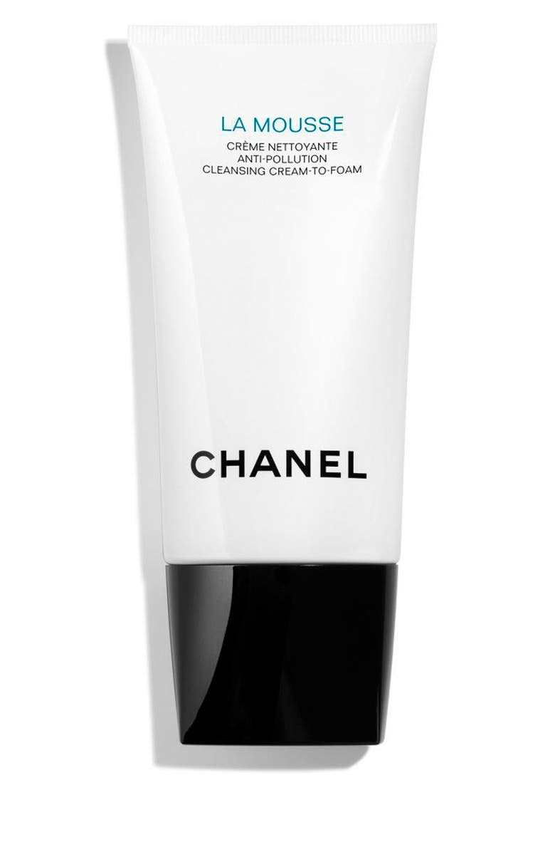 CHANEL LA MOUSSE <br />Anti-Pollution Cleansing Cream-to-Foam, Main, color, 000
