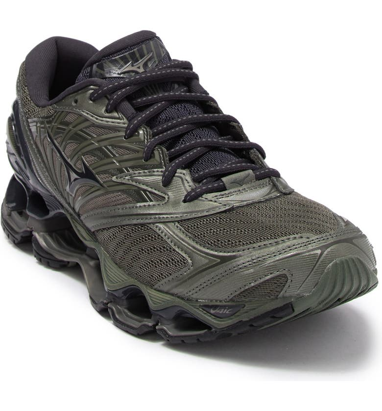 MIZUNO Wave Prophecy 8 Running Shoe, Main, color, BEETLE-BL GRAPHITE