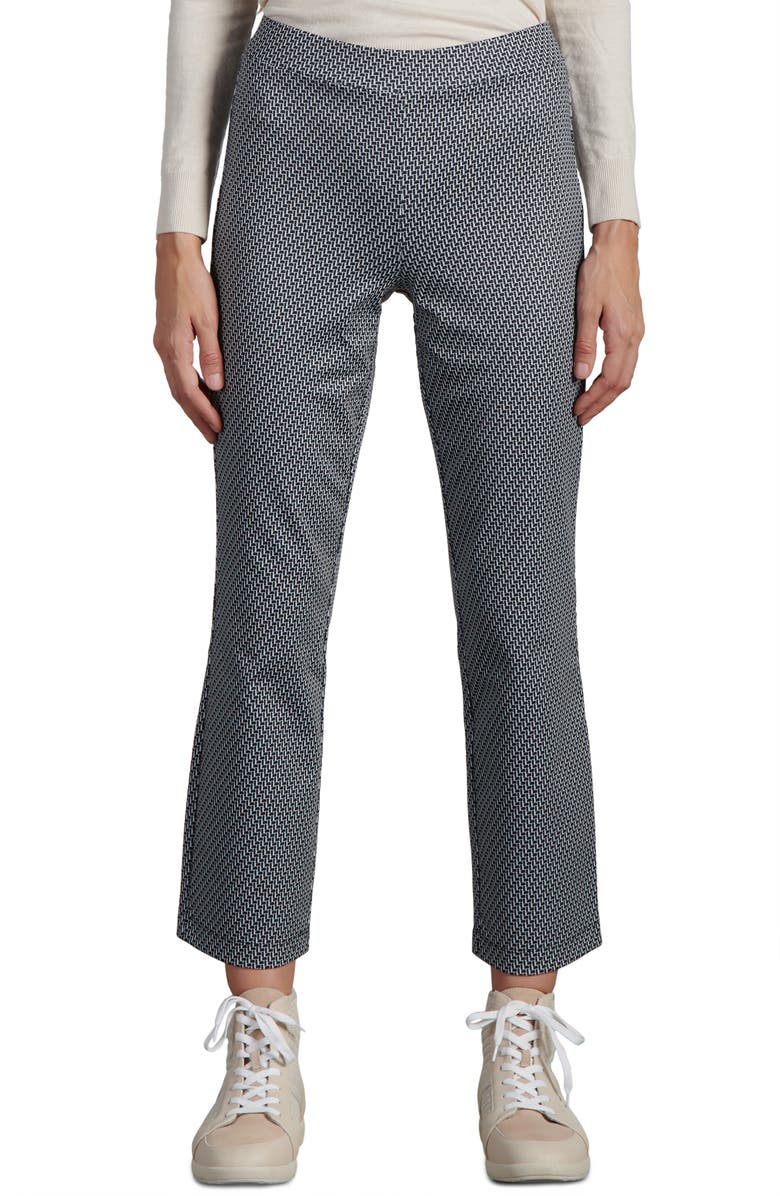 SANCTUARY Carnaby Kick Crop Trousers, Main, color, OPTIC GEO