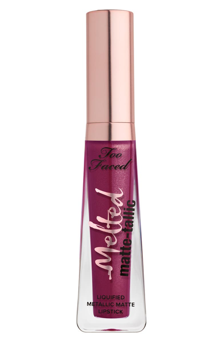 TOO FACED Melted Matte-tallics Liquid Lipstick, Main, color, I DARE YOU