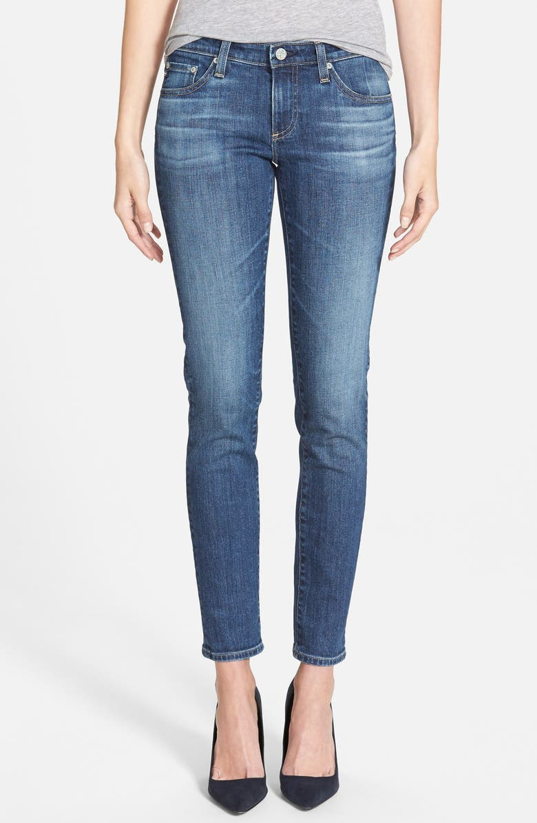 AG 'The Stilt' Cigarette Leg Jeans, Main, color, 403