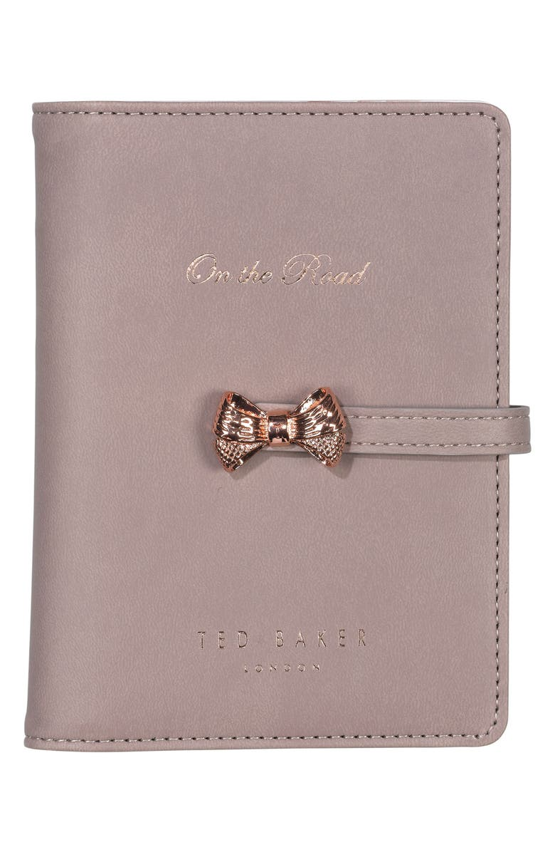 WILD & WOLF Ted Baker London Travel Document Holder, Main, color, 650