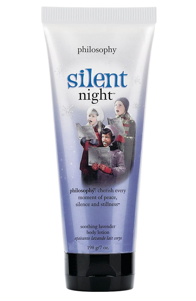 PHILOSOPHY 'silent night' soothing lavender body lotion, Main, color, 000