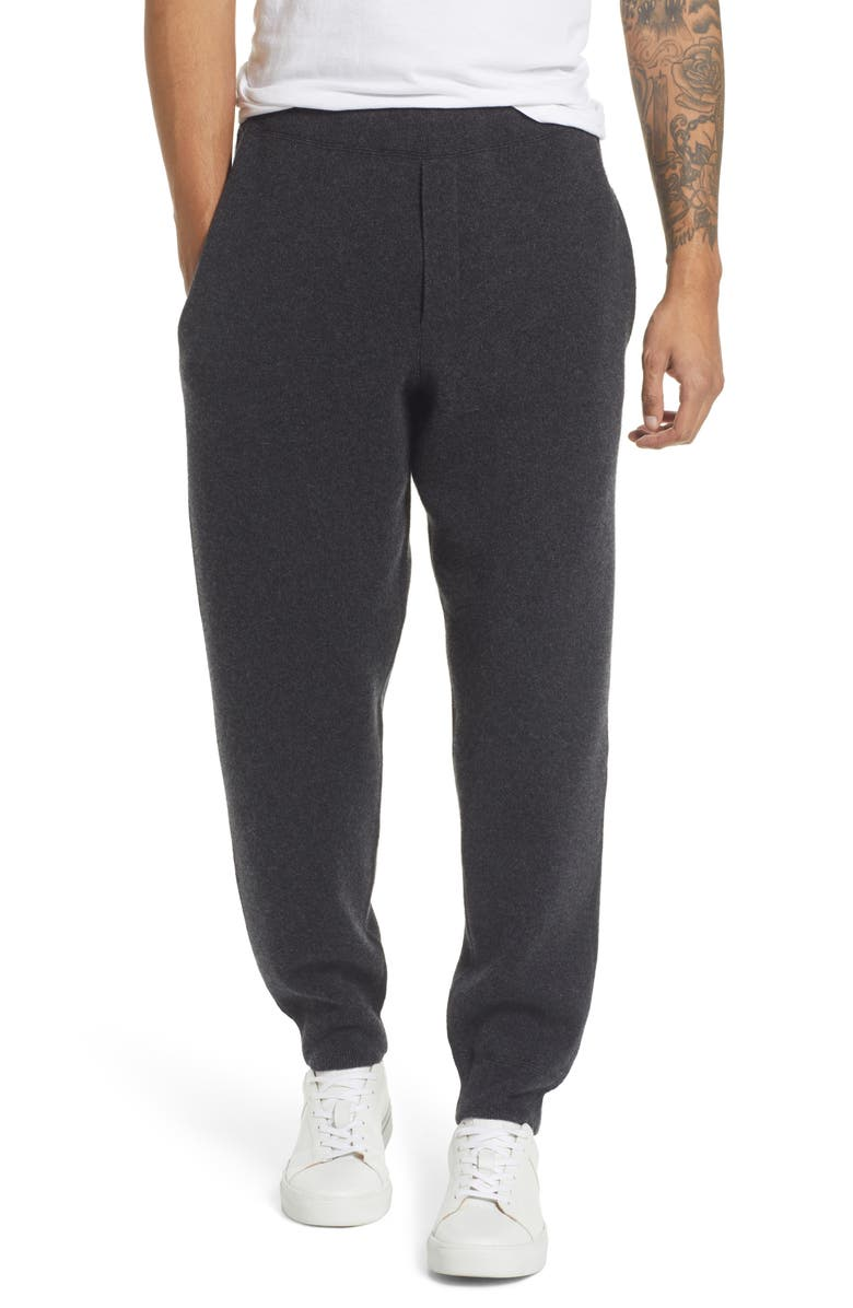RAG & BONE Venture Cashmere Sweatpants, Main, color, CHARCOAL