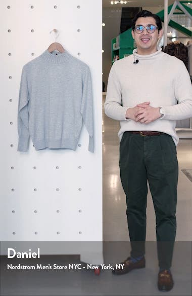 Ysiee Embellished Funnel Neck Sweater, sales video thumbnail