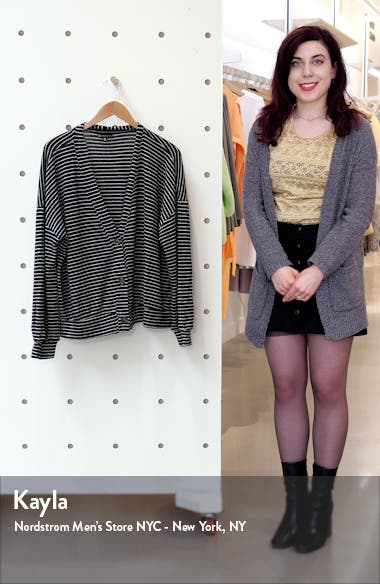 Nia Cozy Crop Cardigan, sales video thumbnail