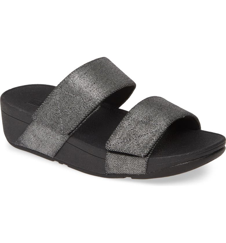 FITFLOP Mina Shimmer Slide Sandal, Main, color, 009