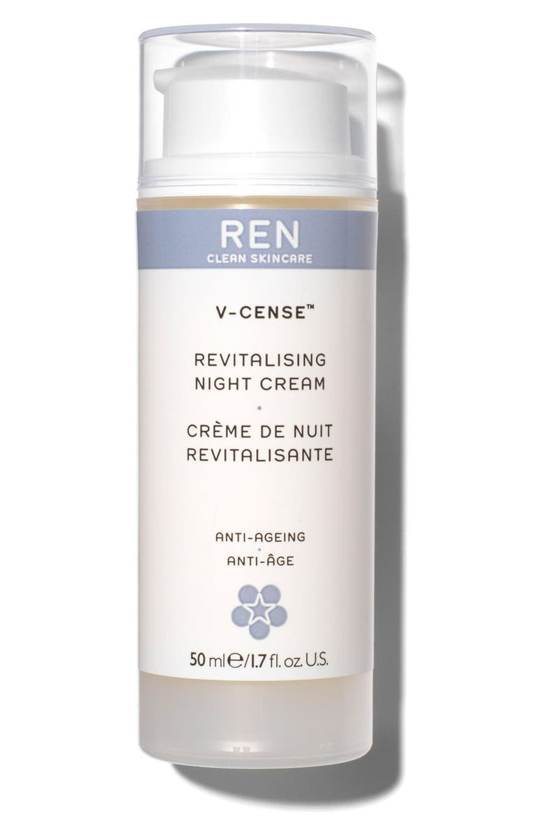 REN CLEAN SKINCARE V-Cense<sup>™</sup> Revitalizing Night Cream, Main, color, NO COLOR