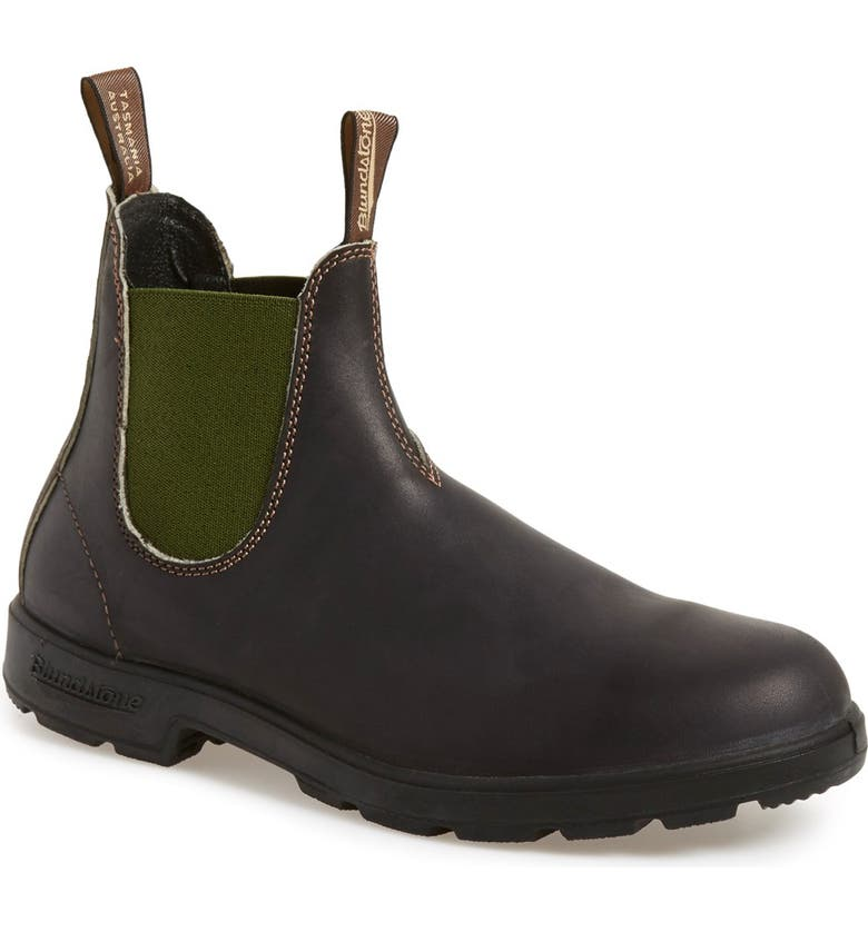 BLUNDSTONE FOOTWEAR Chelsea Boot, Main, color, STOUT BROWN