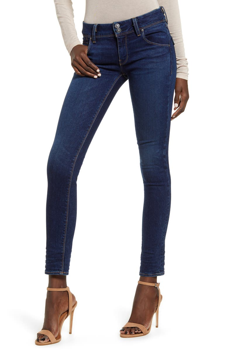 HUDSON JEANS Collin Supermodel Skinny Jeans, Main, color, OBSCURITY