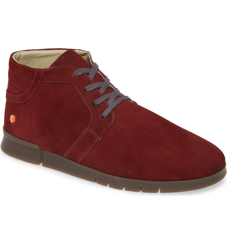 SOFTINOS BY FLY LONDON Cul Boot, Main, color, DARK RED RANCH LEATHER