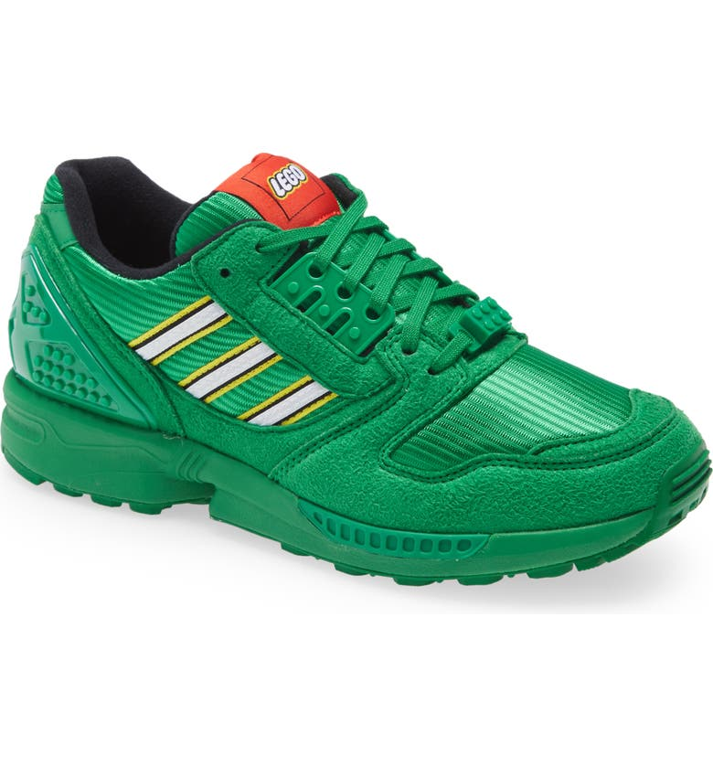 ADIDAS ZX 8000 x LEGO<sup>®</sup> Sneaker, Main, color, GREEN/ WHITE/ GREEN