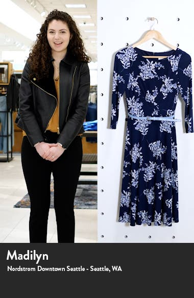 Belted Long Sleeve Dress, sales video thumbnail