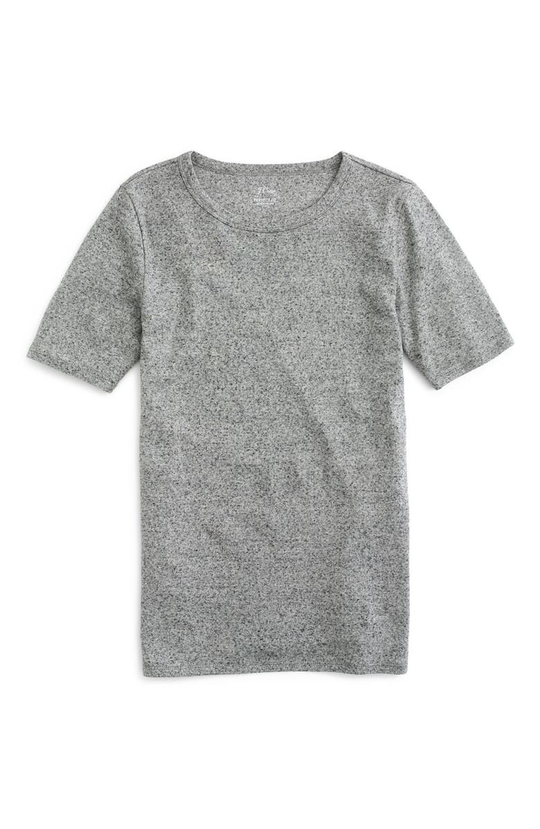 J.CREW New Perfect Fit Tee, Main, color, 023