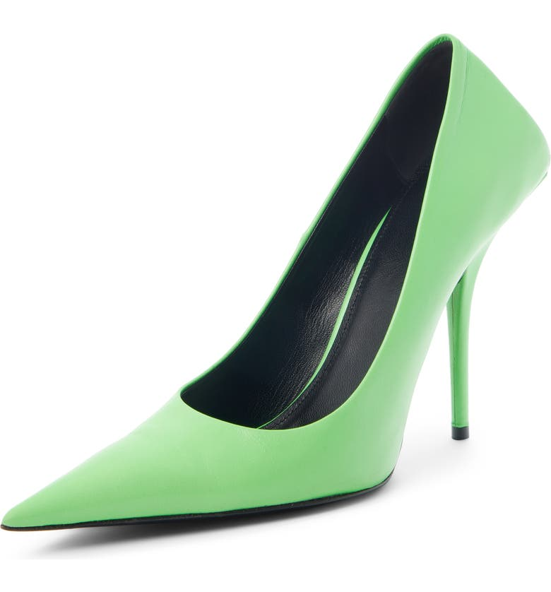 BALENCIAGA Square Knife Pointed Toe Pump, Main, color, 356