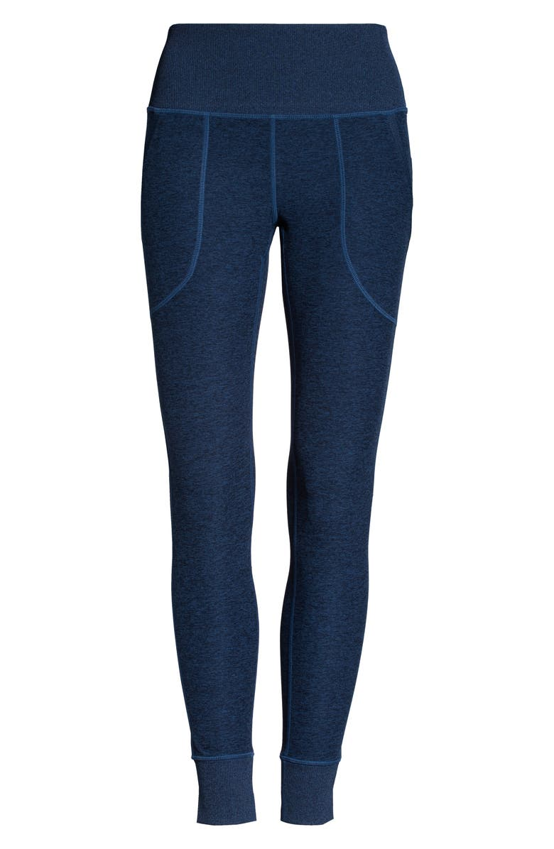 ZELLA Restore Soft Pocket Lounge Leggings, Main, color, NAVY SAPPHIRE