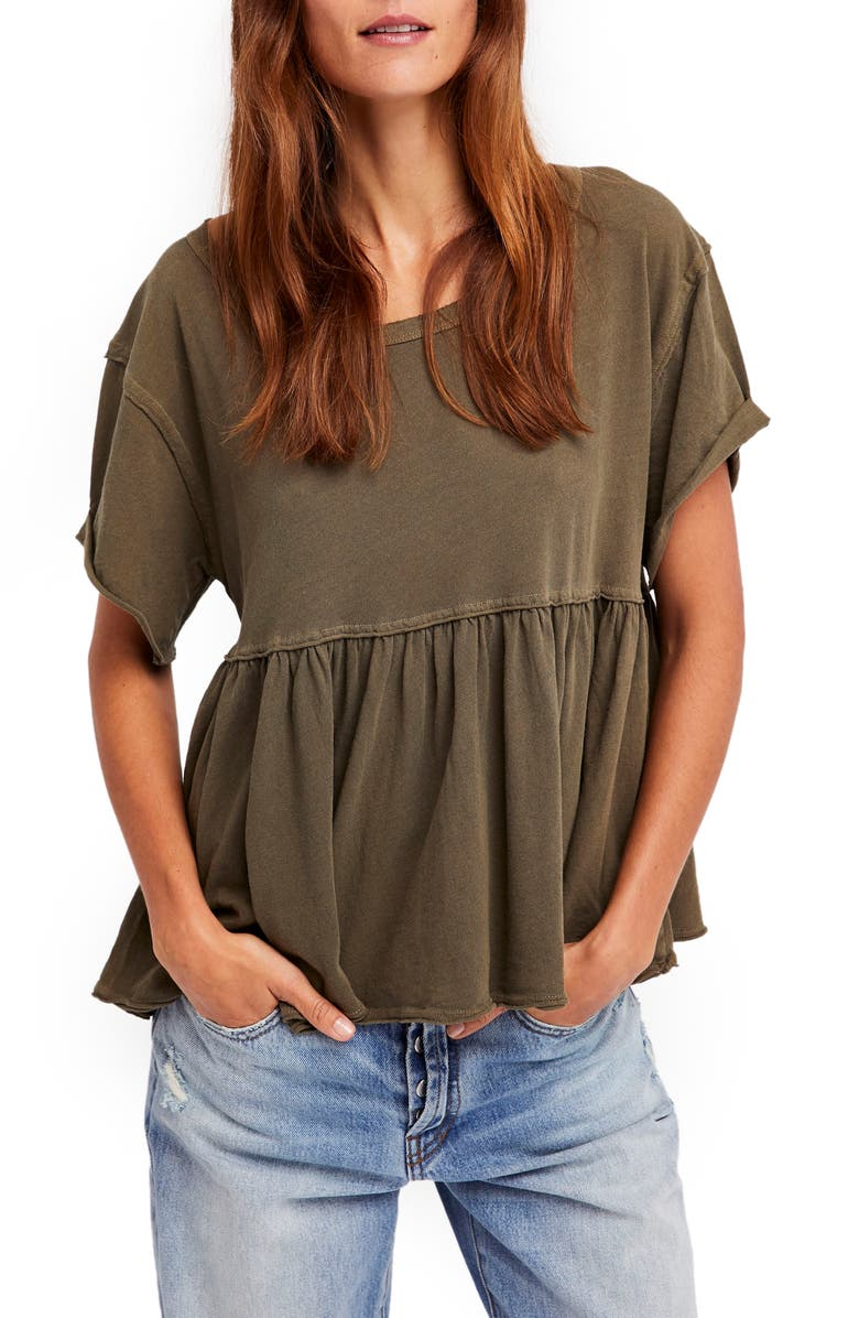 FREE PEOPLE Odyssey Tee, Main, color, 352