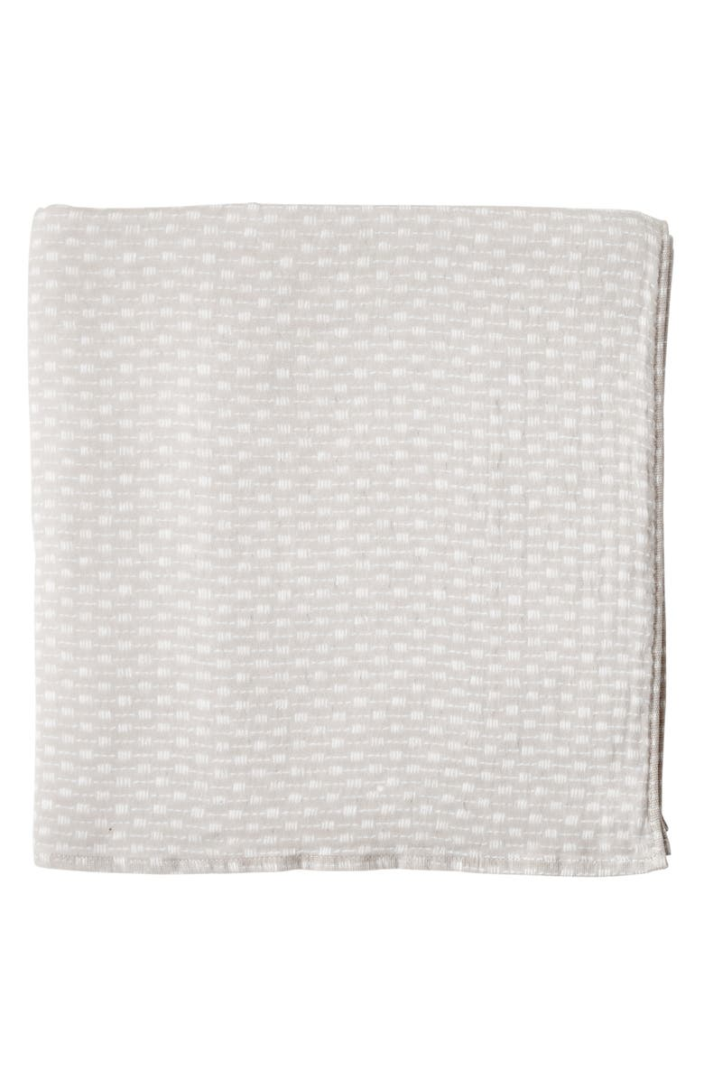 UCHINO Wicker Print Waffle & Pile Bath Towel, Main, color, 265