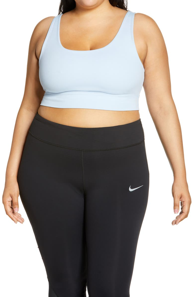 NIKE Yoga Luxe Crop Tank, Main, color, ARMORY BLUE/ PSYCHIC BLUE