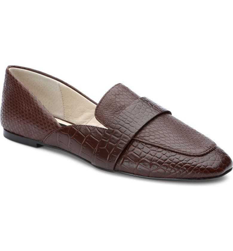 SANCTUARY Sass Penny Loafer, Main, color, COFFEE BROWN LEATHER