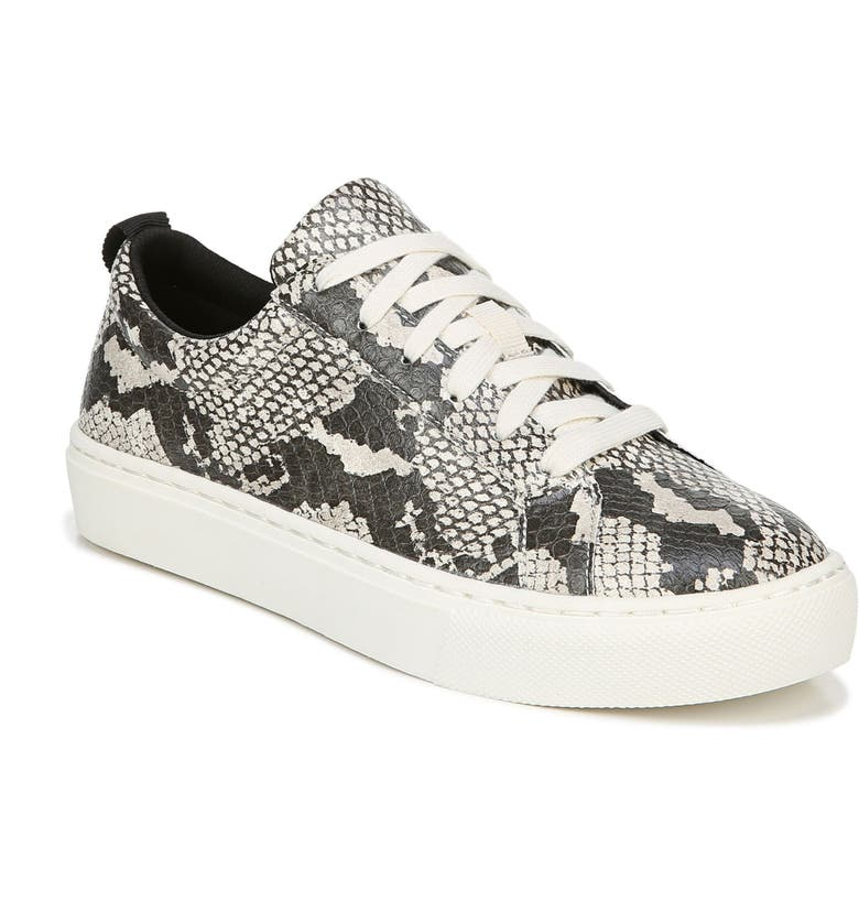 DR. SCHOLL'S No Bad Vibes Sneaker, Main, color, SNAKE PRINT FAUX LEATHER