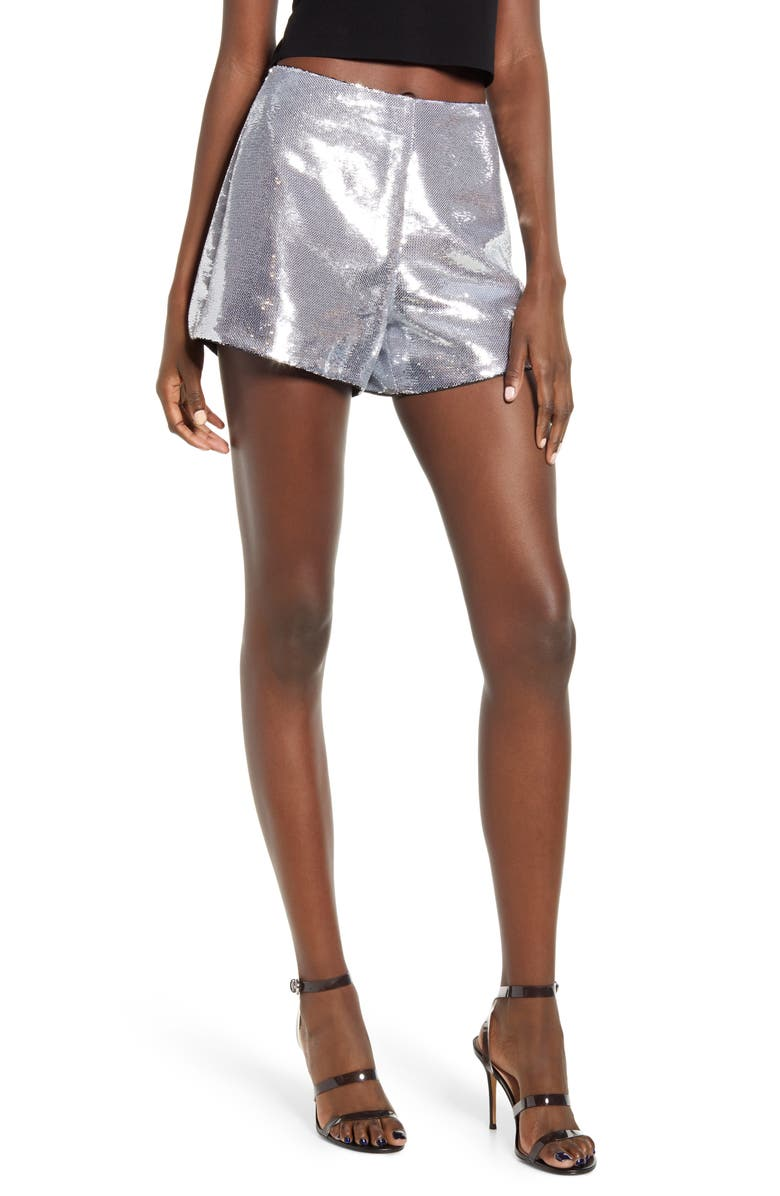 BLANKNYC Sequin Shorts, Main, color, 040