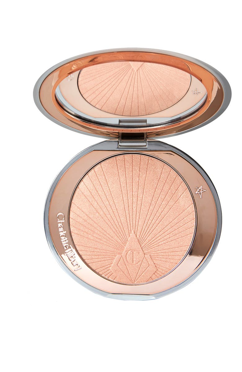 CHARLOTTE TILBURY Hollywood Superstar Glow Highlighter, Main, color, NO COLOR