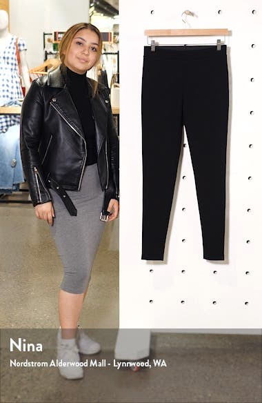 High Waist Ponte Leggings, sales video thumbnail