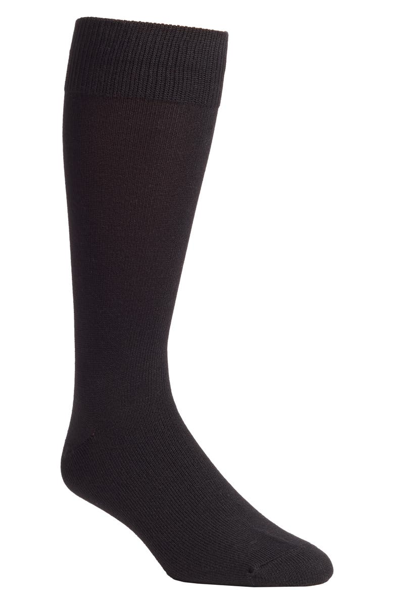 NORDSTROM MEN'S SHOP Nordstrom Ultra Soft Socks, Main, color, BLACK